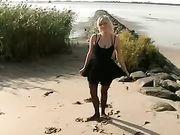 Pareja de alemanes hace que el sexo en la playa