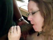 Esposa estadounidense hace que el sexo oral a un hombre negro